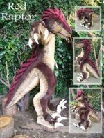 Raptor Fursuit by LilleahWest