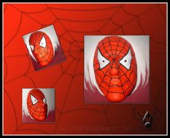 Mask in Spider-Man Style by TheFlyingHeart