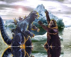 battle of the giants by blanccitron