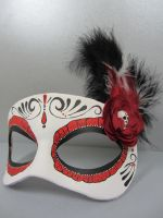 Day of the Dead Masquerade Mask by maskedzone