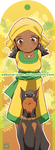 Bookmark3: Nigerian Girl by Sakura-Star