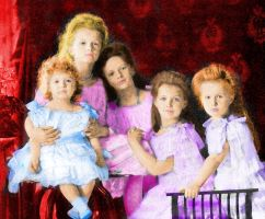 Imperial Children, 1906 by Sonja-from-Finland