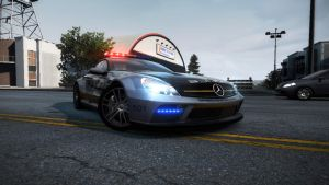 Mercedes Benz SL65 AMG Cop by GamaGT