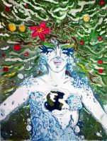 Mother Earth - Before by LadyBone
