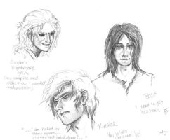 Name of the Wind - Sketches by Orcagirl2001