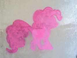 Pinkie Pie graffiti by Pietas