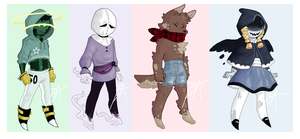Monster Adopts [OPEN] by Minty-Adopts