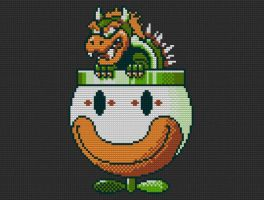 Lego Koopa by drsparc