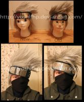 How to Style: Kakashi's Wig by YoshiFHP
