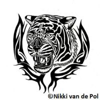 Tiger Tattoo by Nikki-vdp
