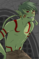 TT - BeastBoy for Shinohahn by riachu64