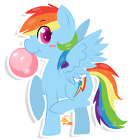 Dashie by SketchyStars