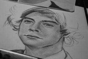 Harry Styles work in progress by Bluecknight