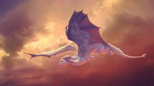.:Flying Dragon:. by Venetrix