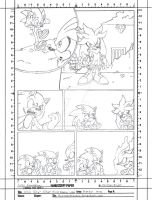 SG: Silver Rival Battle intro - Pencil by LeatherRuffian