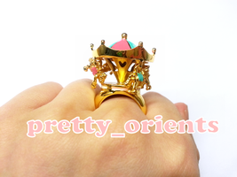 Carousel Merry-go-round Ring by prettyorients