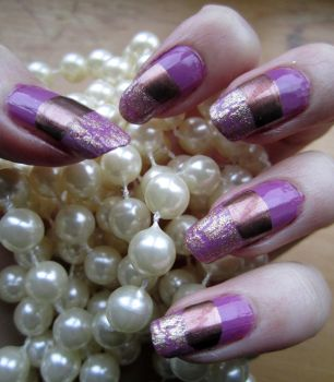 Pink Pearl Nails by soyoubeauty