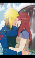 Minato and Kushina by Sarah927