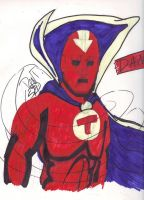 Red Tornado Markers by QuestionRenee