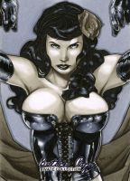 Bettie Page Artist Proof 01 by RichardCox