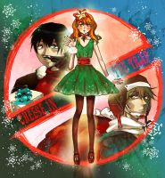 Cheese in the trap merry Chritstmas by mrtea87