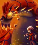 Groudon and Yuuki by The-Blue-Wind
