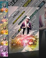 Dance Party Flyer -PSD- by retinathemes