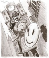 Watchmen - Rorschach by fordosa
