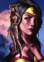 Wonder Woman Illustration by Deputee