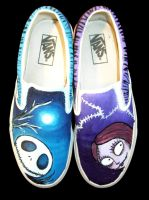 Jack Sally Vans by SwissDutchess