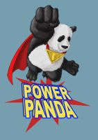 Power Panda by Jeff-Drylewicz