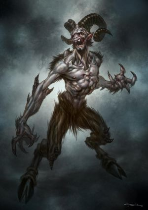 God of War III- Satyr