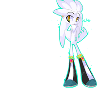 .Silver the Hedgehog. by kitsuneswirl