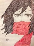 Doodle3 (Mikasa) by CanadianGurlAtHome