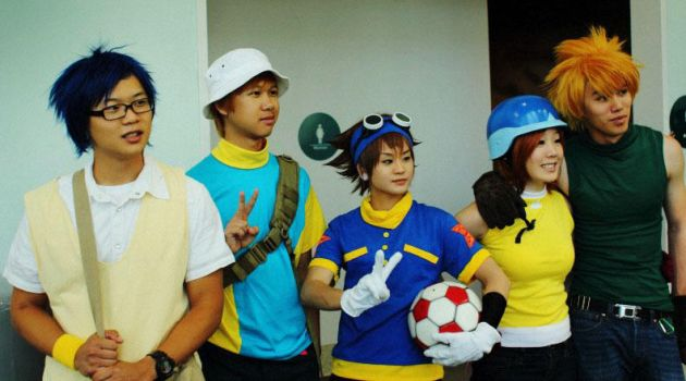 Digimon 1st Gen Cosplay by Christinies