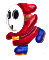 SMB Collab - Shy Guy by Cpr-Covet