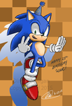 24th-birthday- Sonic by poppin7581