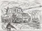 Well....its a Jagdtiger by The-Pillbox