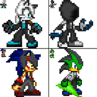 All characters new version by Dark15Shooter