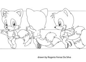 Baby Tails Model Sheet by rogferraz