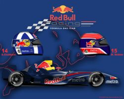 Red Bull Racing RB3 by ShinjiRHCP