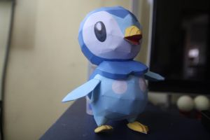 Piplup Papercraft by eXaLpHaXe