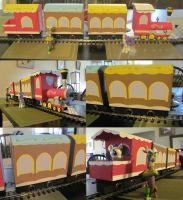 G Scale Friendship Express by boilerwash