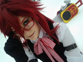 Me As Grell 2 by grellsmidnightlover