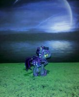 MLP FiM custom: Princess Luna's Night Guard by vulpinedesigns