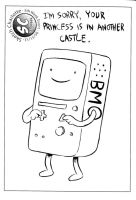Library Sketch: BMO by oh-the-humanatee