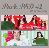 - Pack PSD #2 for Suri and Dark by LeeJennie