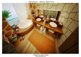 R2-Master Bathroom 2 by Semsa