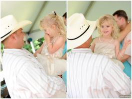 Dad and his little cowgirl by jessp-photography