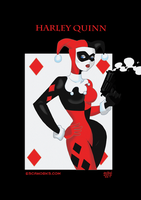H is for Harley Quinn by ierdna